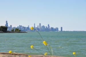 Chicago von Hyde Park aus